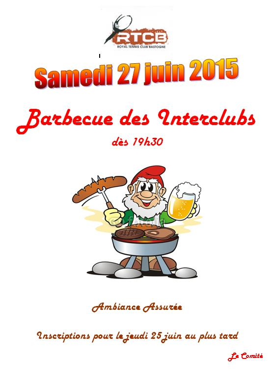 Barbecue Interclubs 2015